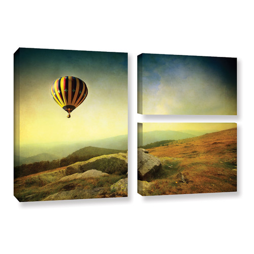 Alcott Hill Keys to Imagination III 3 Piece Photographic Print on Wrapped Canvas Set