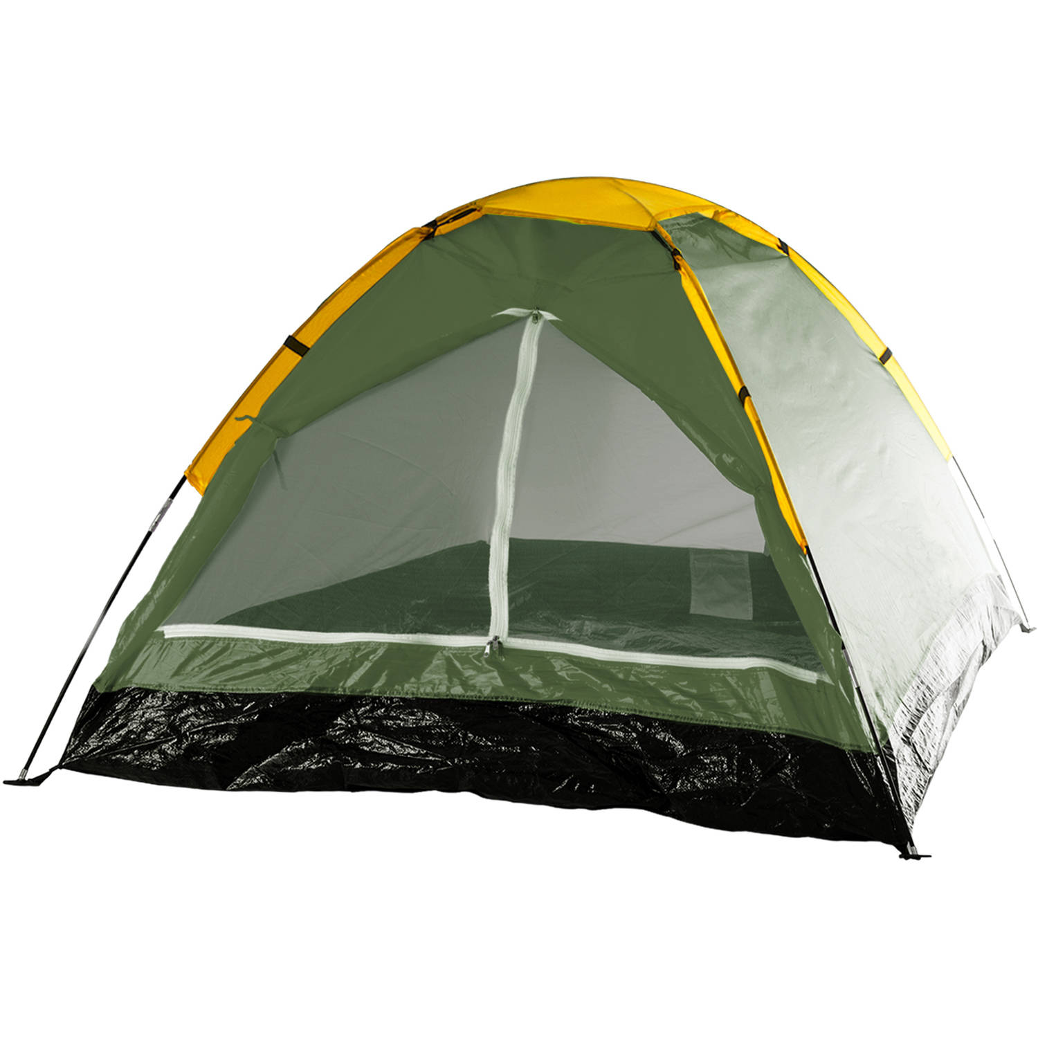 Wakeman Outdoors Happy Camper 2-Person Tent, Leafy Green