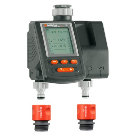 GARDENA Water Computer with Dual Outlets Gardena Water Timers