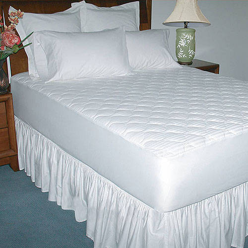 Luxury Cotton Mattress Pad Pillow Top Topper Cover Thick ...
