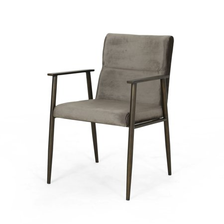 Magnificent Christopher Knight Home Amethist Modern Velvet Dining Arm Chair By Uwap Interior Chair Design Uwaporg