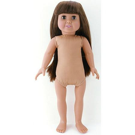 Fibre Craft Springfield Collection Pre-Stuffed Doll, Emma ...