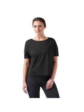 4068c7870566a Product Image Reebok Women s Perforated Tee White