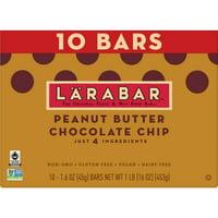 LARABAR, Gluten Free PB Choc Chip Fruit Nut Bars, 16 oz