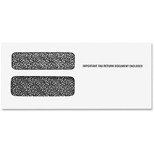 Tops Double Window 1099 Envelopes - Walmart.com