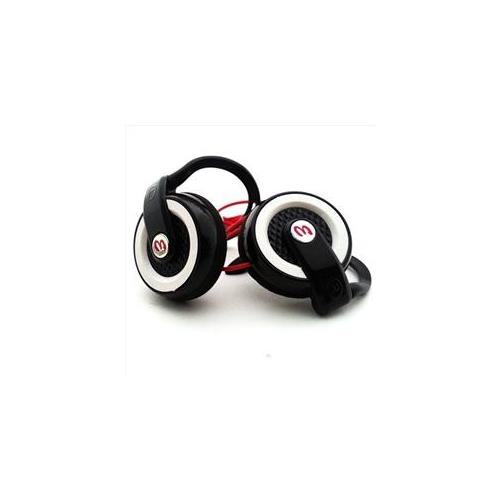 Eclipse IP-EARPHONE-EP3 Black and White Earphones with Dolby Sound-Beat Stereo Quality with adjustable Ear Hooks