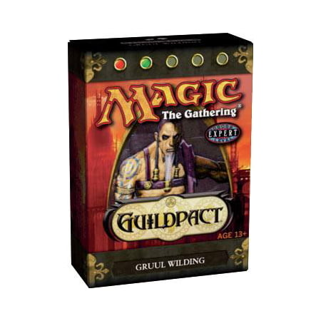 MtG Guildpact Gruul Wilding Theme Deck](Group Theme Ideas For Halloween)