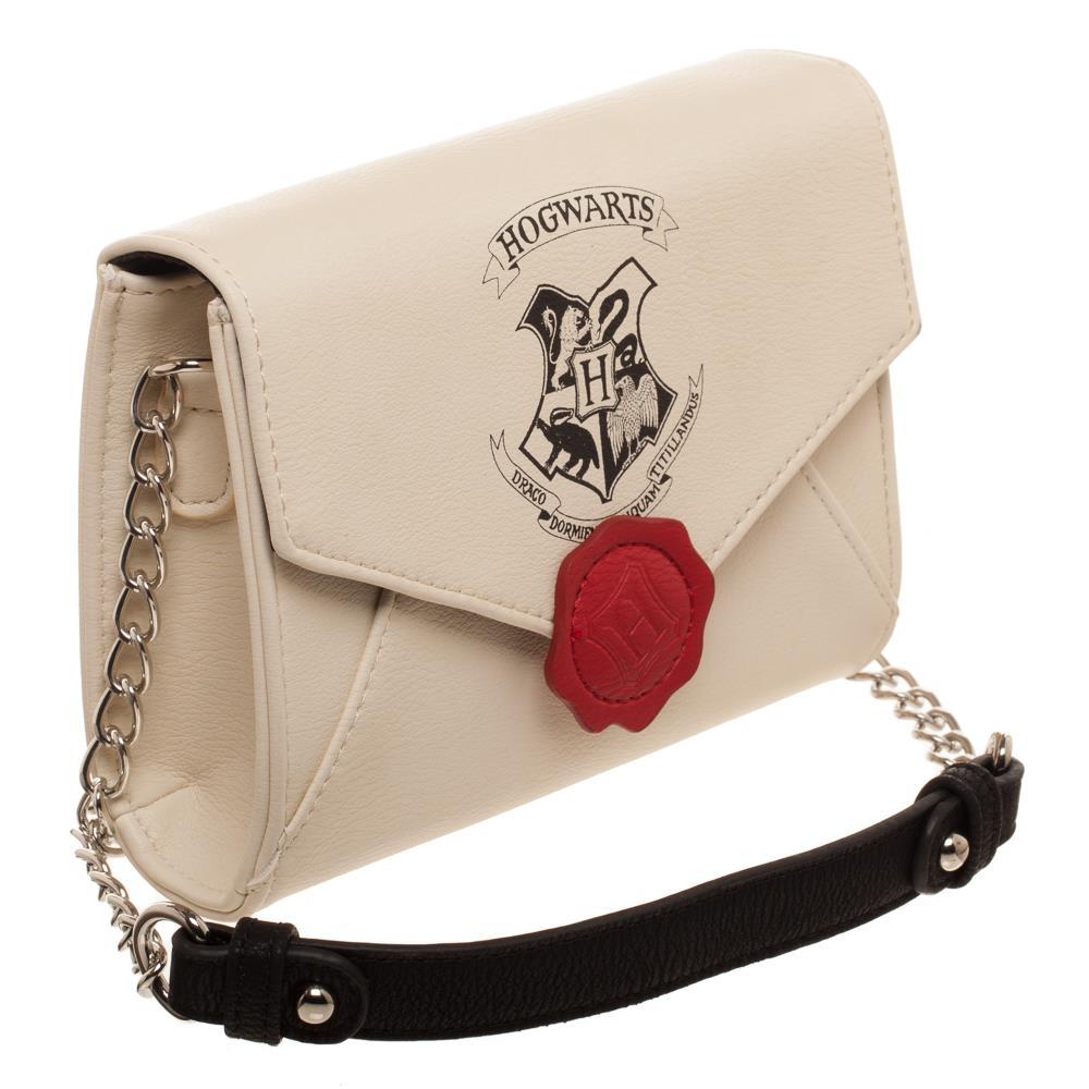 Harry Potter Shoulder Bag Hogwarts Letter Mini Satchel White