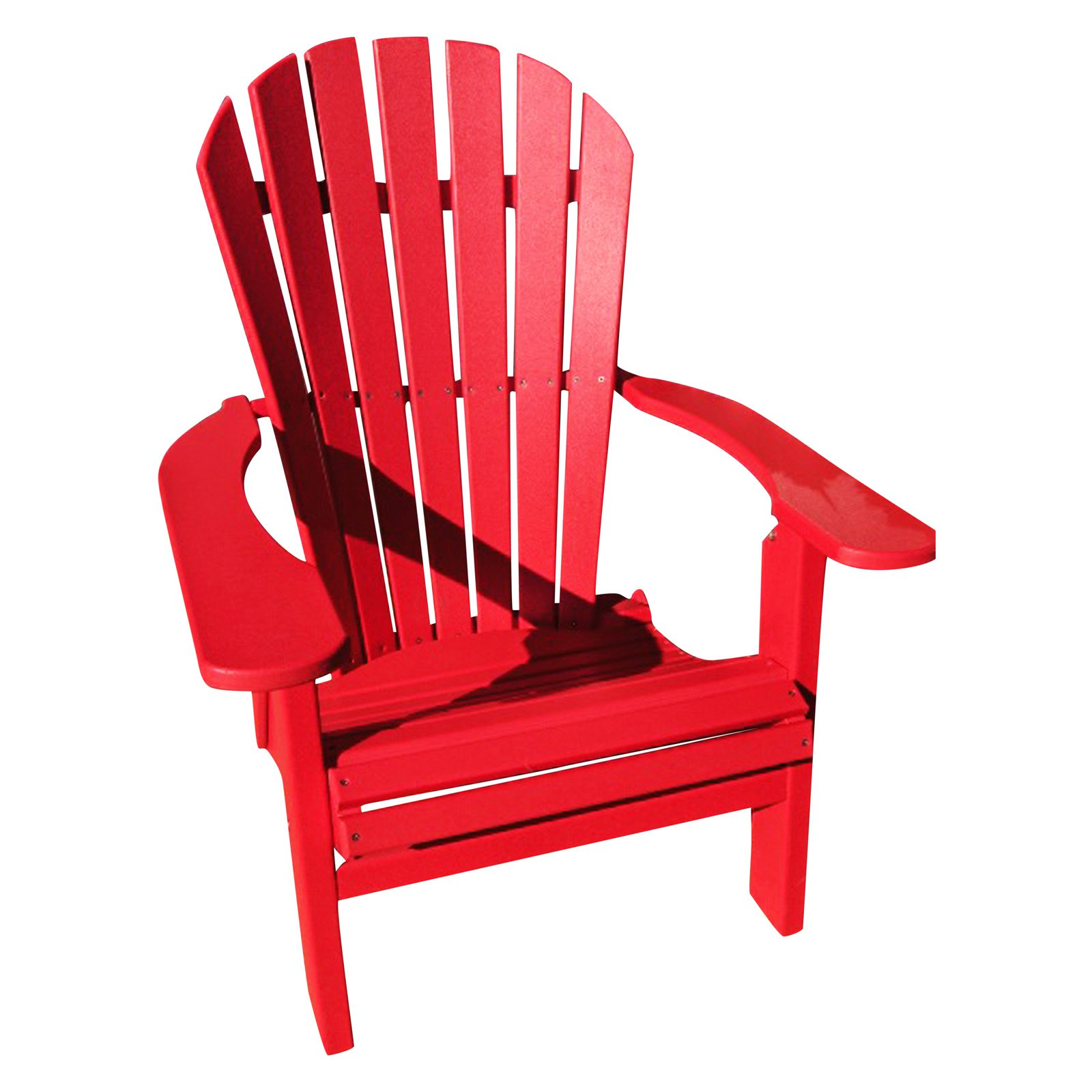 Phat Tommy Recycled Plastic Deluxe Folding Adirondack Chair by Adirondack Furniture