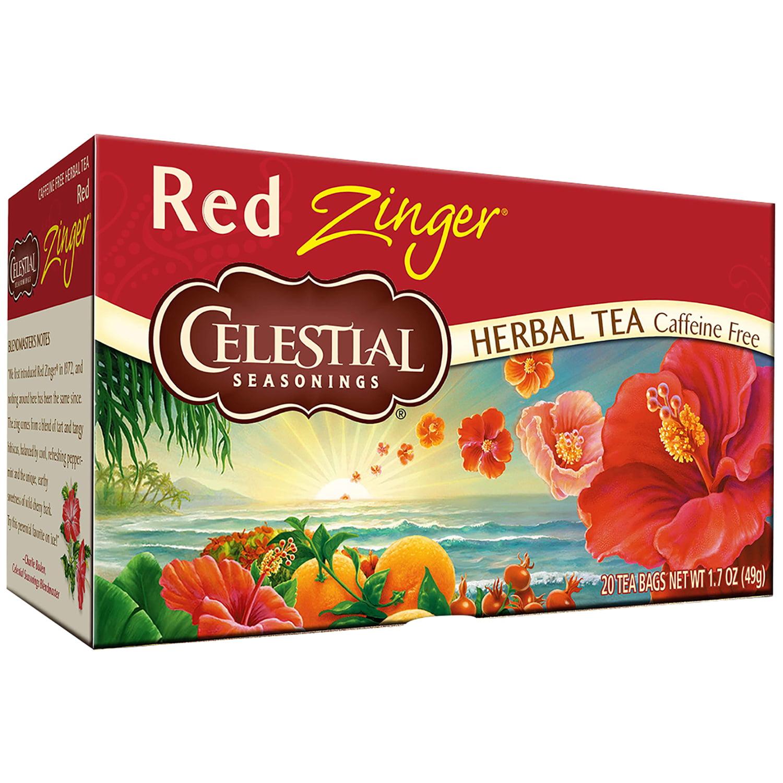 Celestial Seasonings Red Zinger Herbal Tea Bags 20 ct Box by Celestial Seasonings, Inc., The Hain Celestial Group, Inc.