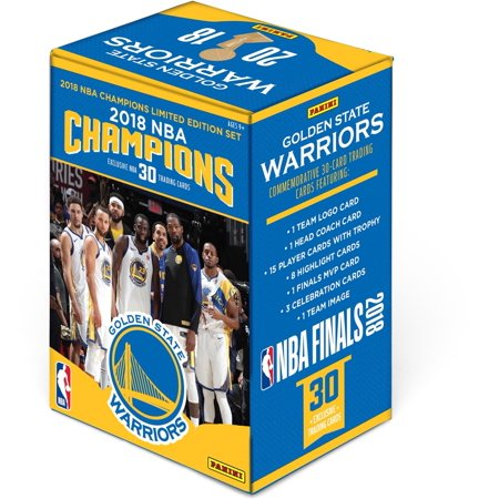 Golden State Warriors 2018 NBA Finals Champions Panini 30 Card Team Set (Perry Signed Card)