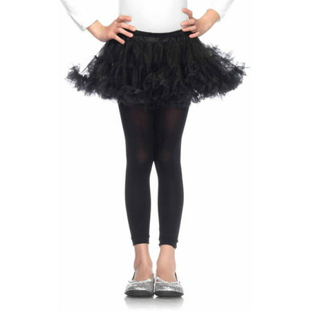 Black Plus Size Petticoat (Leg Avenue Petticoats Child Halloween)