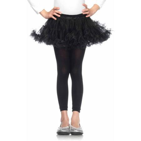 Plat Orange Halloween (Leg Avenue Petticoats Child Halloween)