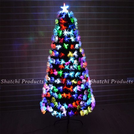 2ft Pre Lit Fibre Optic Christmas Tree Various Effects Xmas Home Decoration -