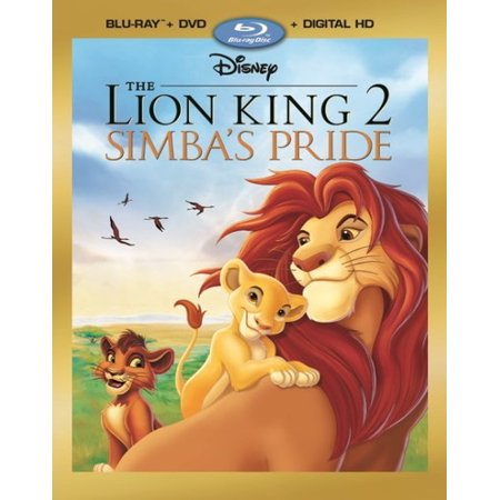 The Lion King 2: Simba's Pride (Blu-ray + DVD + Digital HD) - Animation Halloween Lyon