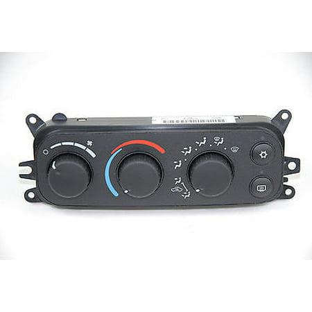 A/C and Heater Control Switch MOPAR 55056321AE fits 01-04 Dodge Dakota (Dodge Dakota Engine Control Module)