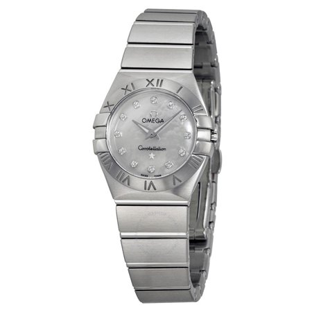 Omega Constellation Mother of Pearl Dial Ladies Watch 123.10.24.60.55.001