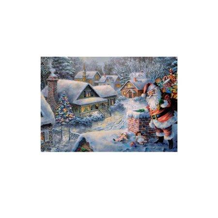 Alexander Taron Korsch Santa on Roof Advent Calendar