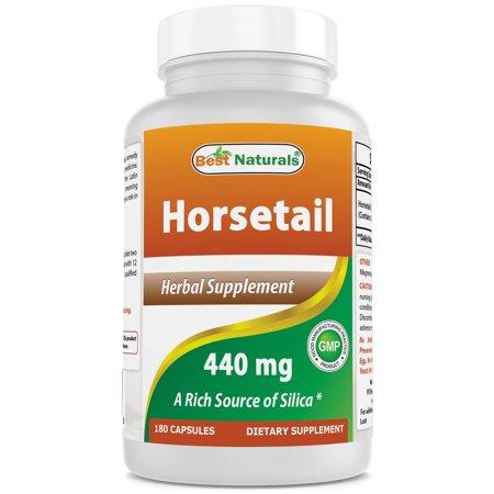 Best Naturals Horsetail 440 mg 180 Capsules