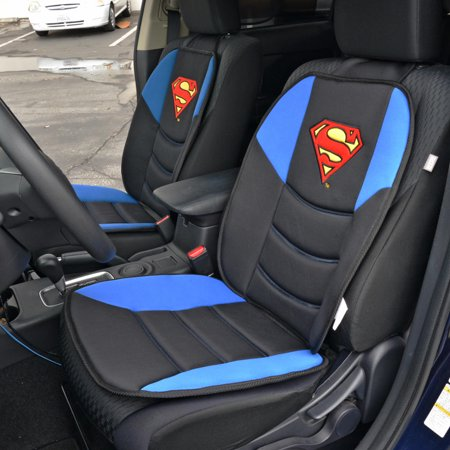 Superman Car Seat Cushion Padded Comfort Support For Truck SUV Home And Office