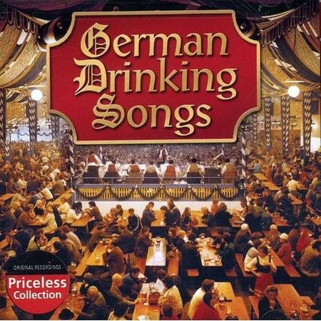 German Drinking Songs (CD) (Halloween Drinking Songs)