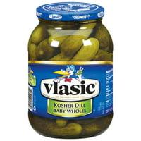 Vlasic Baby Wholes Kosher Dill 46 fl oz