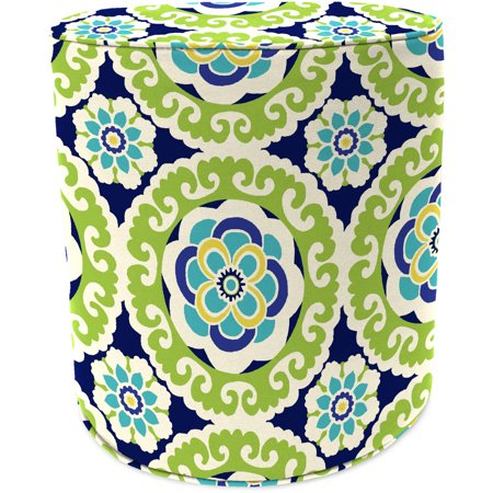 Pleasing Jordan Manufacturing Outdoor Patio Round Pouf Ottoman Squirreltailoven Fun Painted Chair Ideas Images Squirreltailovenorg