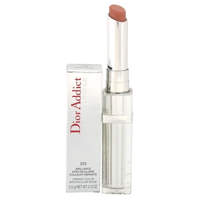 Christian Dior Dior Addict Lipstick Vibrant Color Spectacular Shine 222 Beige Casual