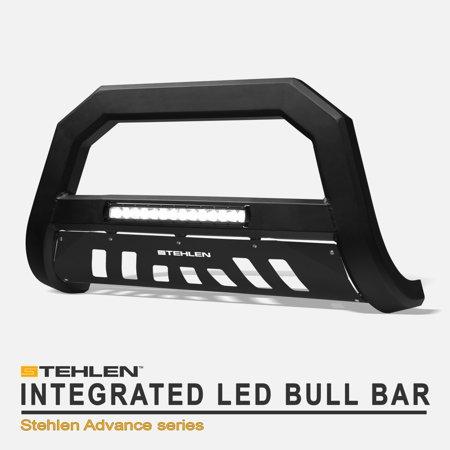 Stehlen 733469493105 Advance Series Aluminum LED Bull Bar ( Matte Black ) For 2004-2018 Ford F150 / 2003-2017 Expedition ; 2003-2014 Lincoln Navigator / 2006-2008 Mark LT Ford F150 Bull Bar