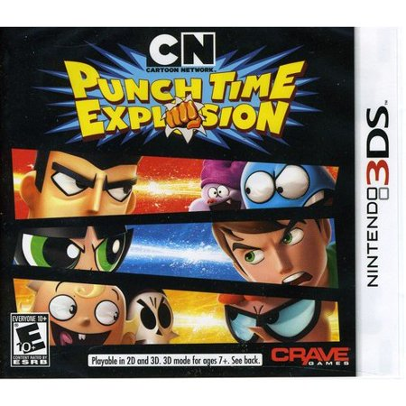 Cartoon Network: Punch Time Explosion (3DS) (Cartoon Network Punch Time Explosion Xl Wii)