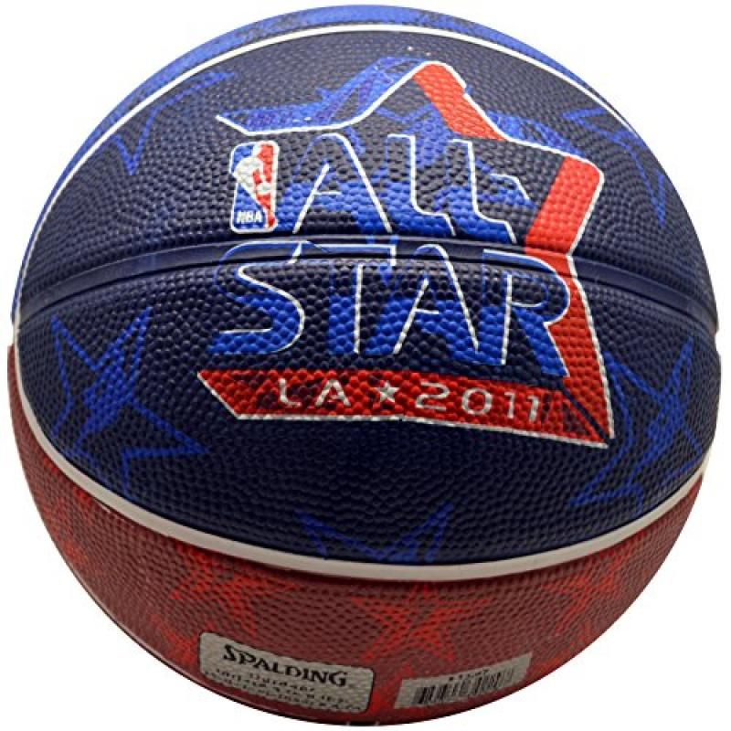 Spalding NBA All Star Game 2011 Los Angeles Mini Basketball (6 Pieces)