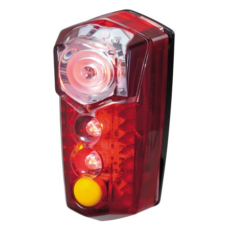 Topeak RedLite Mega Rear Mount 5-Mode Bike Safety Light - Visible to 1