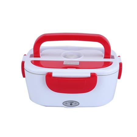 12V Car Plug Heating Insulation Box Multifunctional Electronic Heated Lunch Box