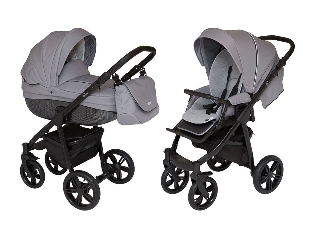 ROAN BASS SOFT Stroller with Bassinet and Reversible Seat 2-in-1 by ROAN