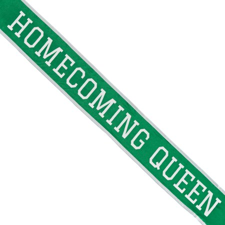 Shindigz School Homecoming Queen Sash - Homecoming Court Sashes