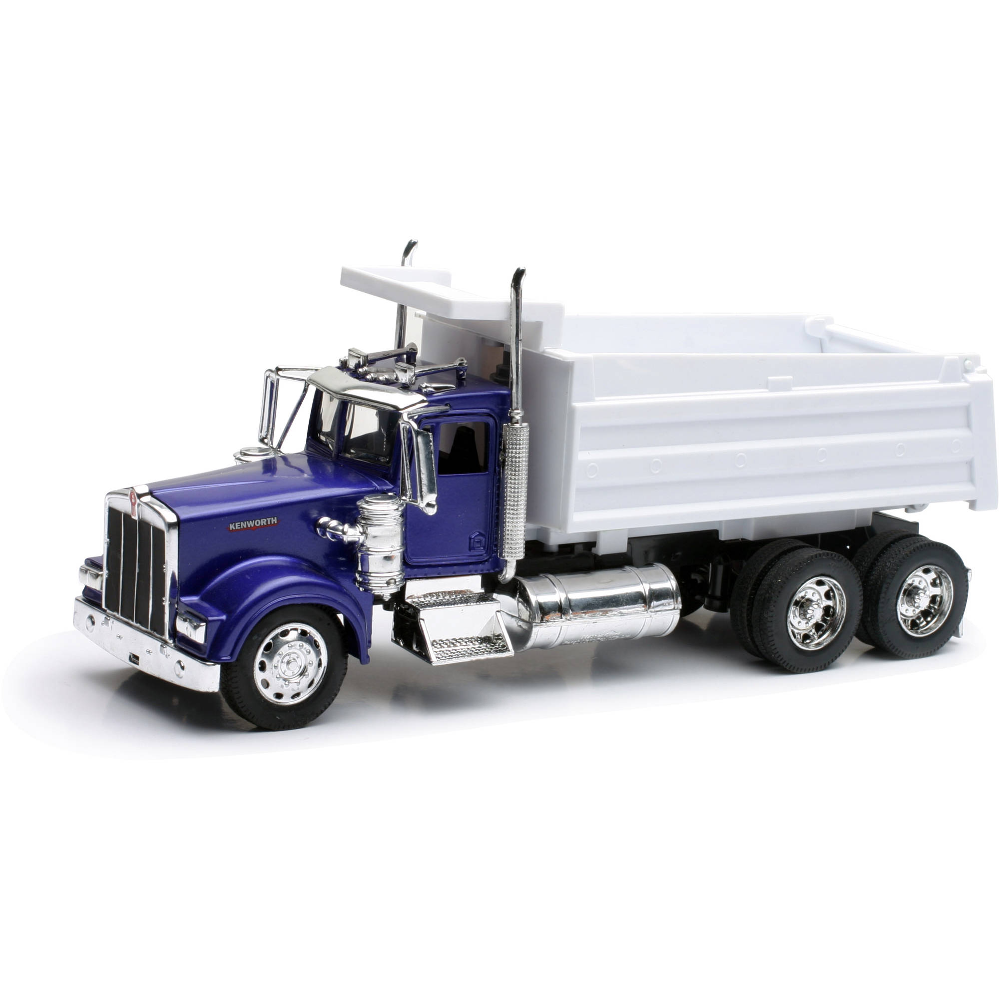 1:32 Scale Die-Cast Kenworth W900 Dump Truck by New-ray Toys