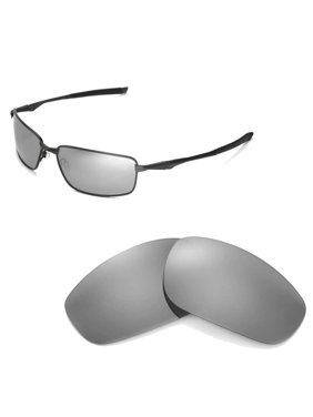 1962bc1e25 Product Image Walleva Black Polarized Replacement Lenses for Oakley Splinter  Sunglasses