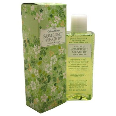- Crabtree & Evelyn Somerset Meadow Bath & Shower Gel, 6.8 Oz