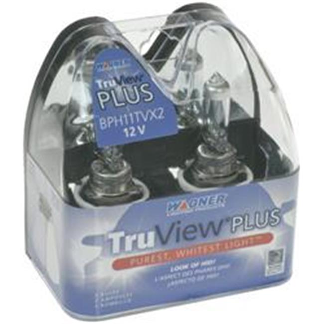 Wagner BPH11TVX2 Truview Plus Head Light Bulb Pack