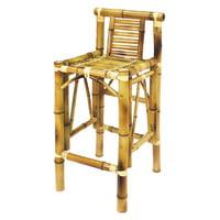 RAM Game Room Bamboo Tiki 29 in. Outdoor Barstool - Set of 2