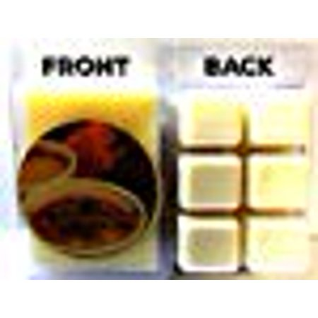 Pumpkin Creme Brulee 3.2 Ounce Pack of Soy Wax Tarts (6 Cubes Per Pack) - Scent Brick, Wickless Candle