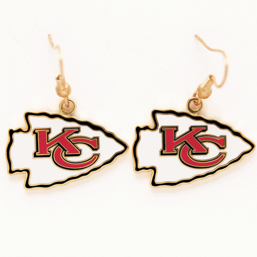 Kansas City Chiefs Dangle Earrings NFL