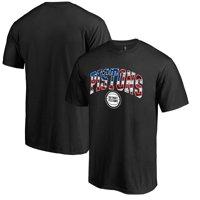 Detroit Pistons Banner Wave T-Shirt - Black