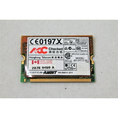 Ibm Thinkpad Sub Card - IBM Thinkpad Laptop PCI 56K Modem Card 10L1296