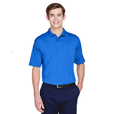 8610 Uc Mens Interlock Polo Royal L - image 1 of 1