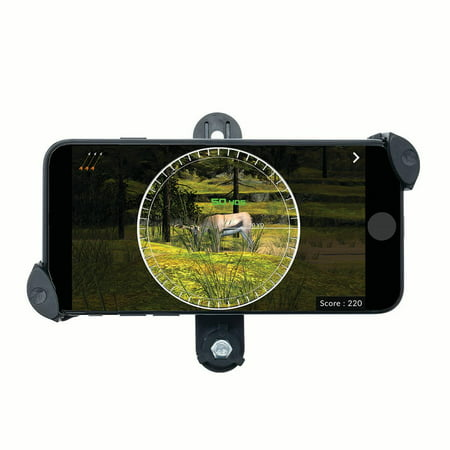 AccuBow Phone Mount Accessory to be used with the AccuBow Virtual Archery & Bowhunting Training Device thumbnail