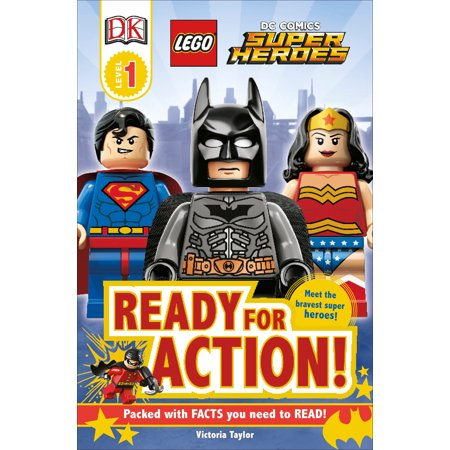 DK Readers L1: LEGO DC Super Heroes: Ready for Action! - Super Hero Letters