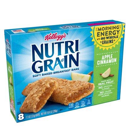 Kellogg's Nutri Grain Soft Baked Apple Cinnamon Breakfast Bars 8-1.3 oz. - Baked Apple Crumble