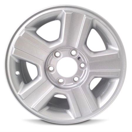 Aluminum Alloy Wheel Rim 17 Inch 04-08 Ford F150 Pickup New Style 5 Spoke Silver