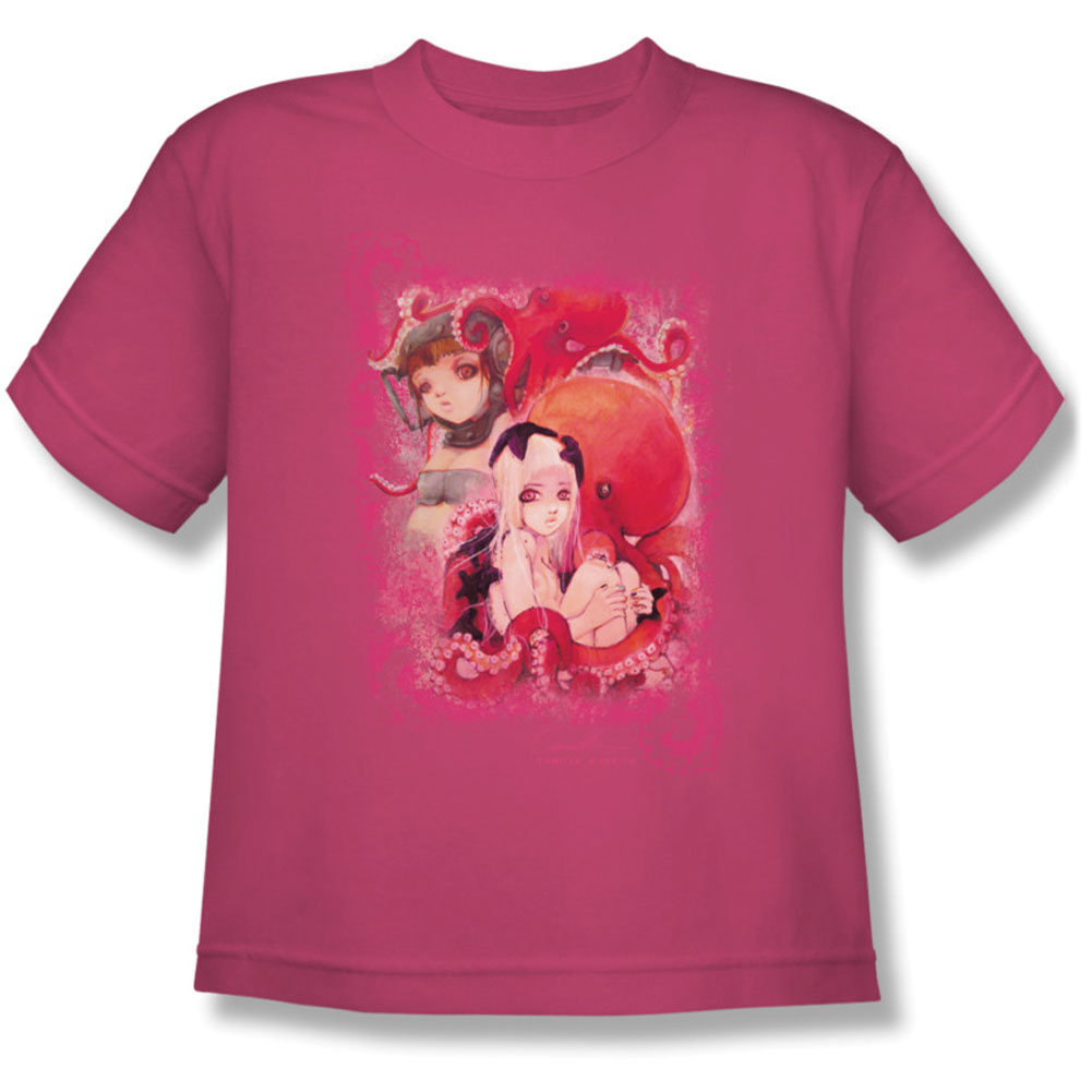 Helmetgirls Men's  Octo Girls Youth T-shirt Pink